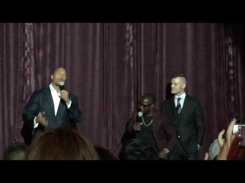 Central Intelligence World Premiere Intro