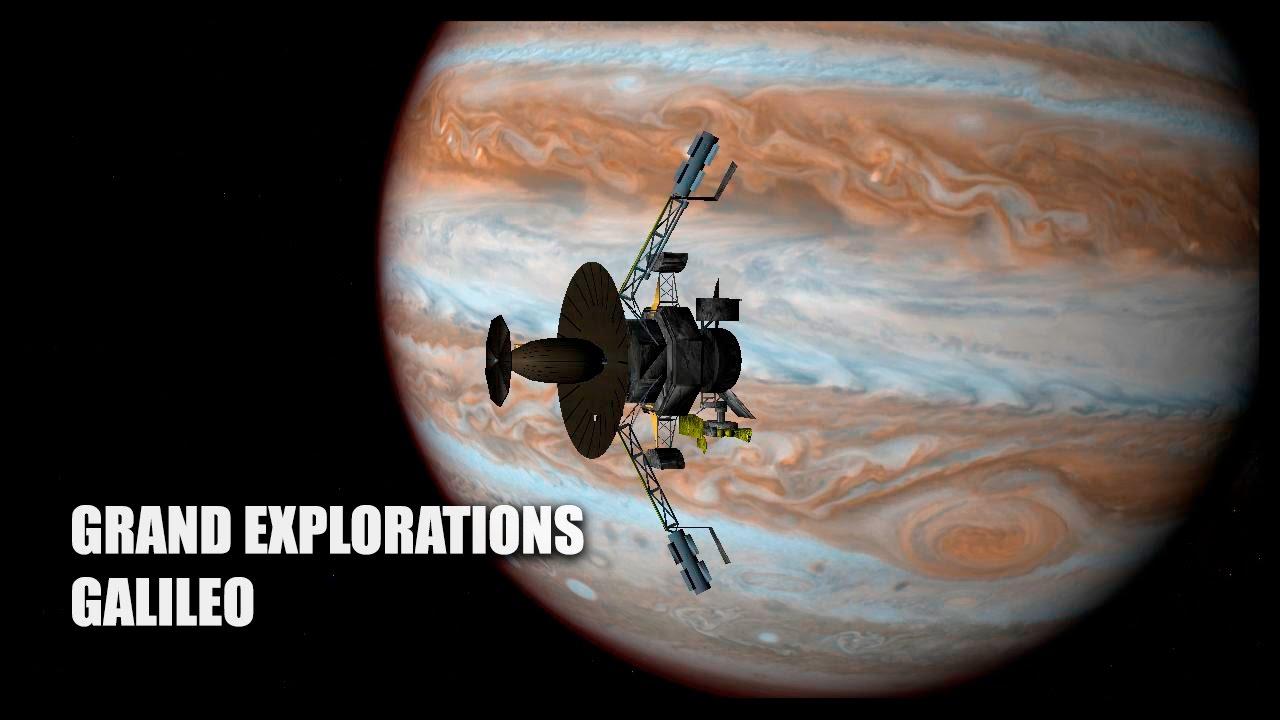 Grand Explorations: Galileo - Orbiter Space Flight ...