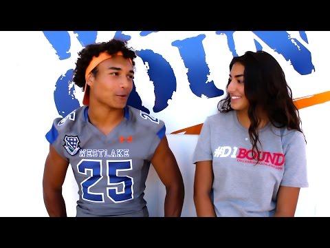 #D1Bound Interview: '16 DB Daniel Fox (Westlake) w/ Alexa Kasparian - CollegeLevelAthletes.com