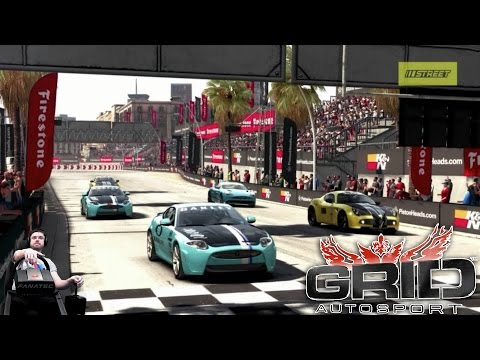 Напряженный стритрейсинг - GRID Autosport на руле Fanatec CSL Elite