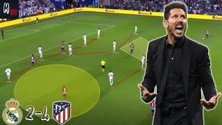 Tactical Analysis / Real Madrid 2-4 Atletico Madrid / How Did Atletico win the UEFA Super Cup?