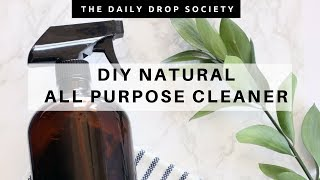 DIY NATURAL CLEANER ✨ making your own all purpose cleaner!