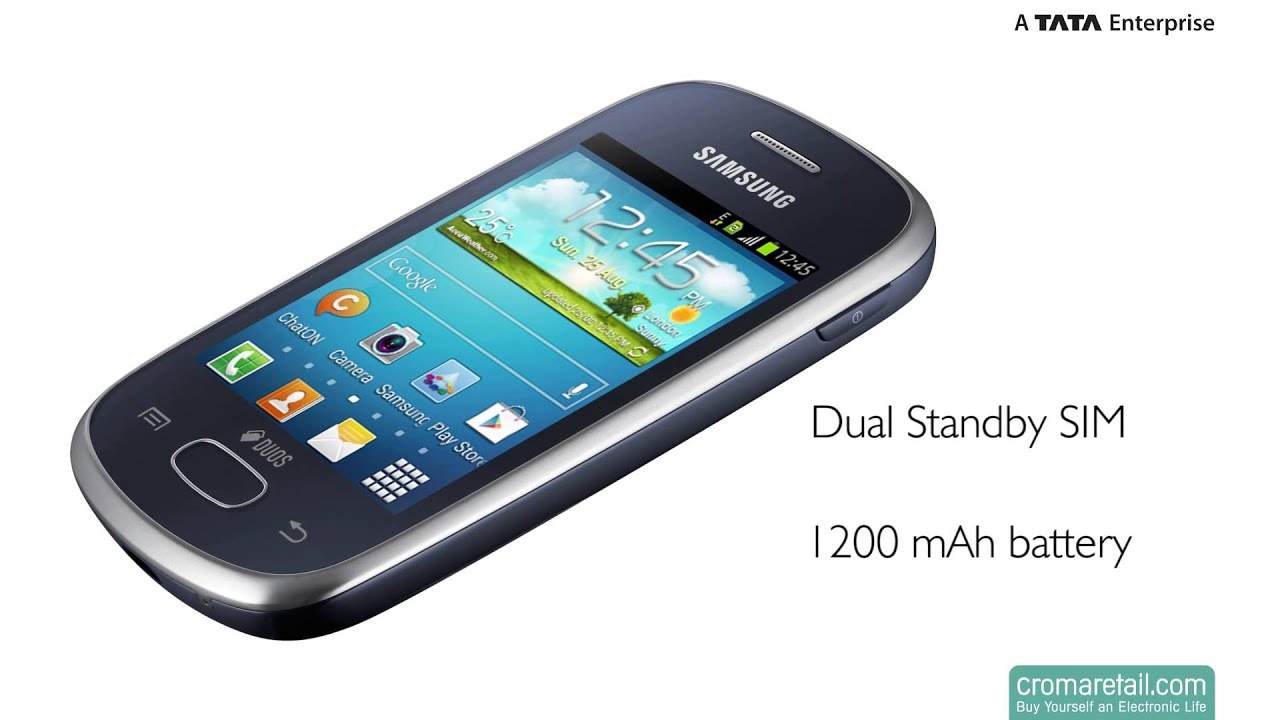 Samsung Galaxy Star S5282 GSM Mobile Phone (Dual SIM)