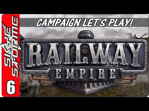 Railway Empire Campaign - Let's Play / Gameplay - Ep 6 - 1861 The Civil War Part 1