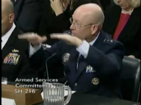 Chambliss at a Senate Armed Services Committee Hearing