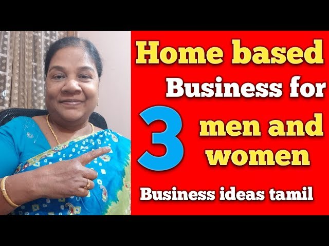 Home based business tamil || Tamil mind awareness || Business ideas tamil
