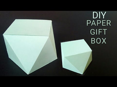 Diy Paper crafts ideas easy | Diy Paper Gift Box | How to make Paper Box | Diy Paper Box