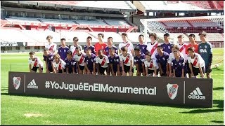 Thailand's cave boys enjoy kick about at iconic River Plate stadium