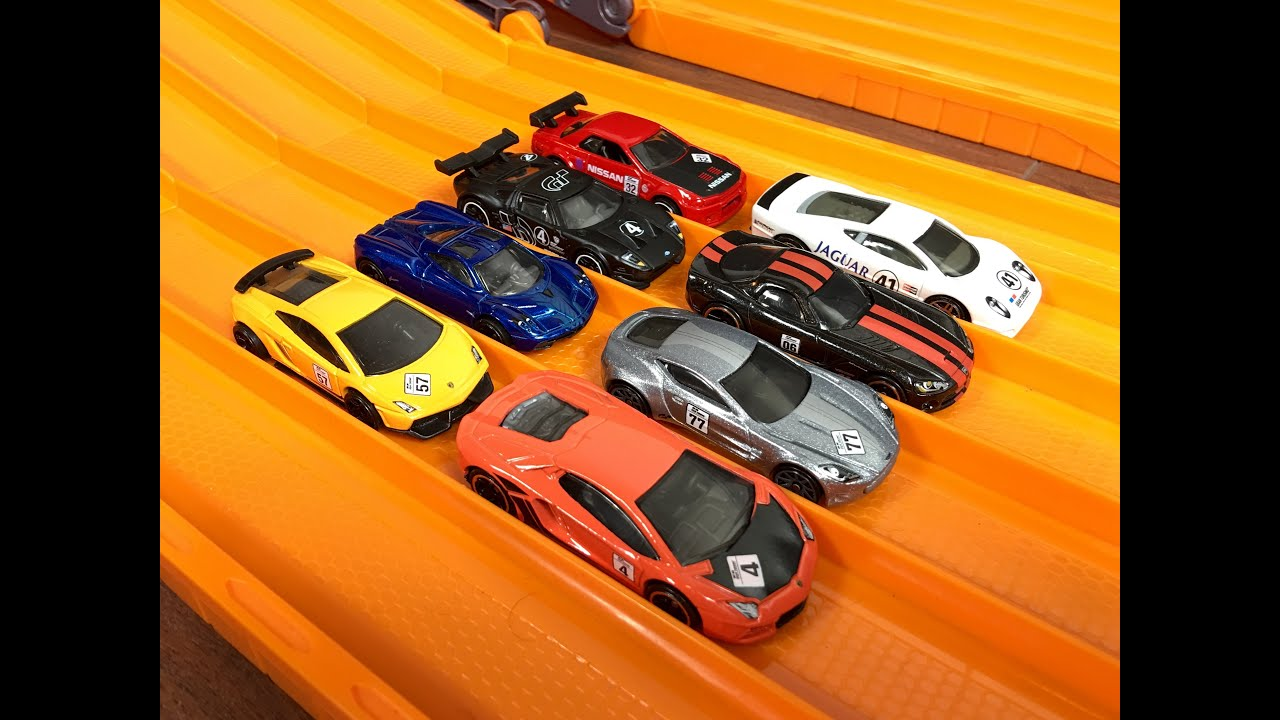 Hot Wheels Car Gran Turismo Set Review Race Which Is Fastest