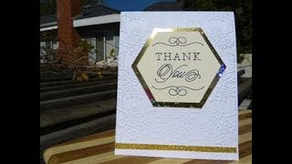 Anna Griffin Thank You Cards   Week 4 of Celebrations
