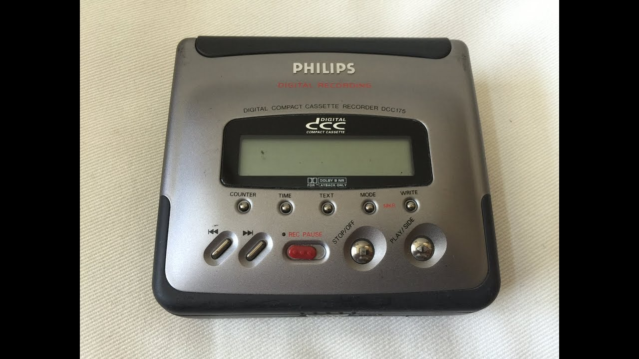 techmoan digital compact cassette repair dcc175 youtube