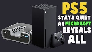 PS5 | Playstation 5 Stays Quiet As Xbox Series X Reveals ALL | Where Is The PS5? | PS5 News 2020