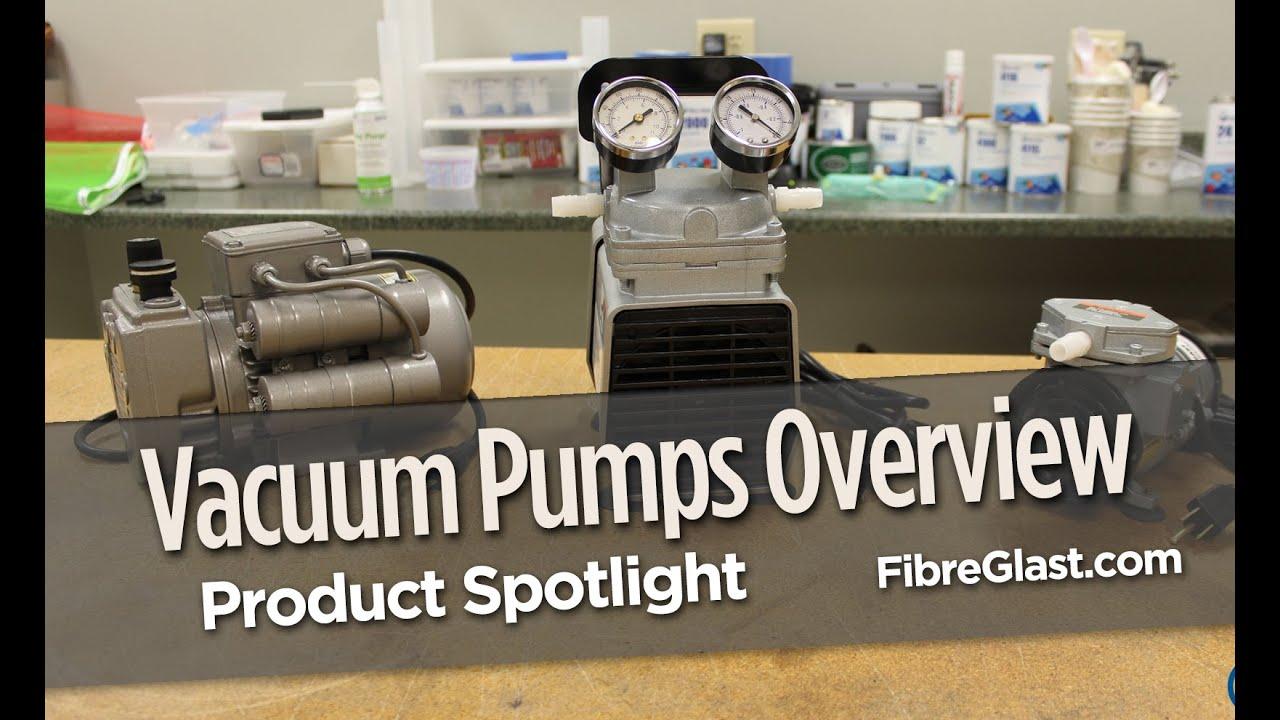 Vacuum Bagging Pumps for Composites in Stock | Fibre Glast
