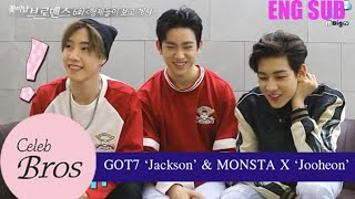"Jackson & Jooheon, Celeb Bros S5 EP6 ""Your bros are watching you"""