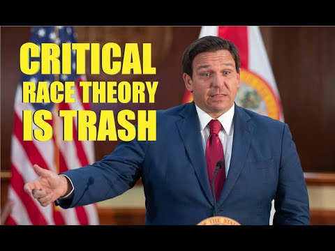 Gov. Ron DeSantis BLASTS Critical Race Theory - Sounds Presidential