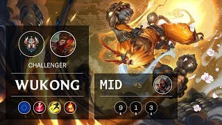 Download Wukong Mid vs Zed - EUW Challenger Patch 9.8 Mp3 and Videos
