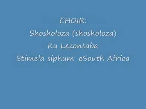 Shosholoza Lyricswmv