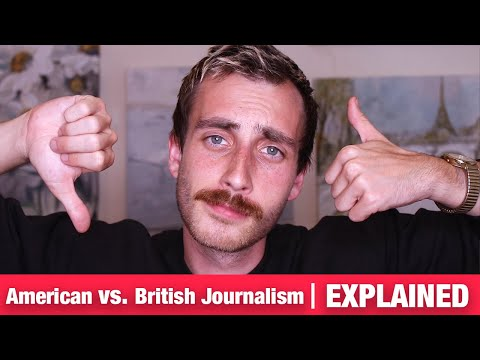 The Difference Between Journalist In America and Britain. (UK Journalists)