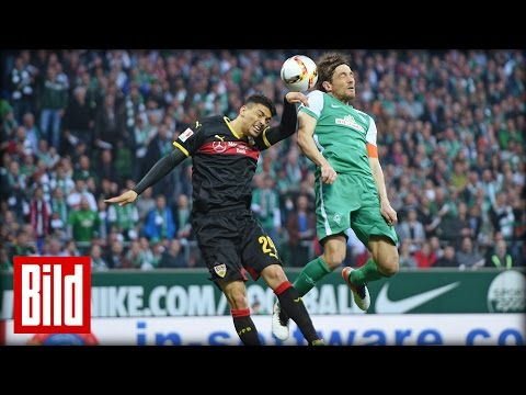 Werder schiesst Stuttgart ab - BILD DAILY 03.05.2016