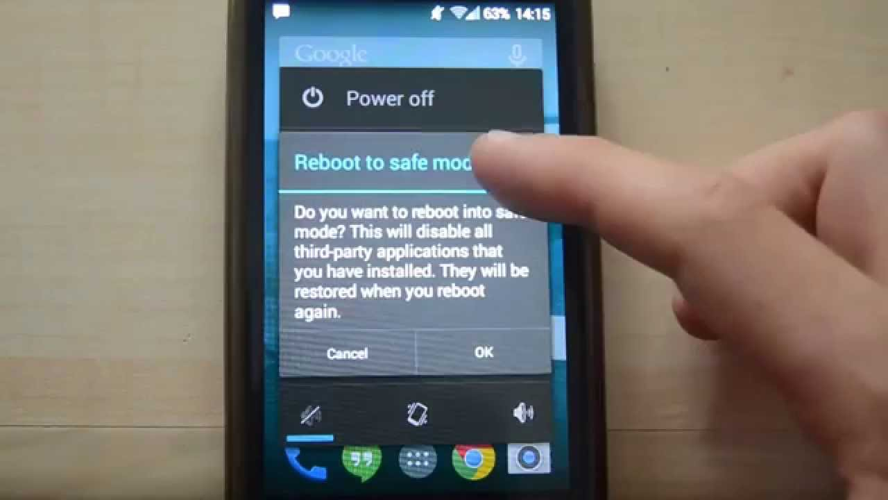 How to boot the Samsung Galaxy S3 mini into Safe Mode - YouTube