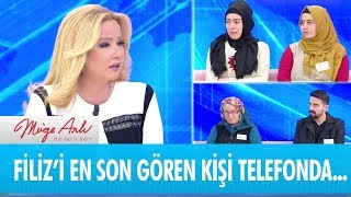 Filiz Karadavut'u en son gören kişi telefonda - Müge Anlı ile Tatlı Sert 18 Ocak 2019