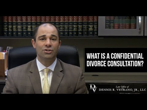What is a Confidential Divorce Consultation?