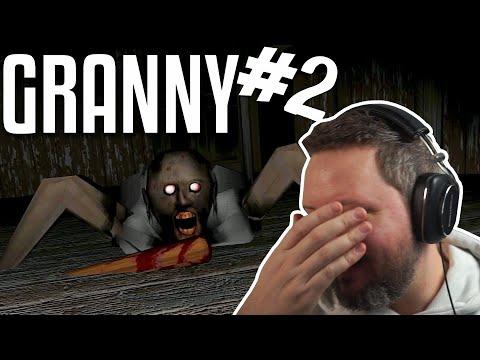 FANGER GRANNY I SAUNAEN! - Granny Horror Game Dansk Ep 2