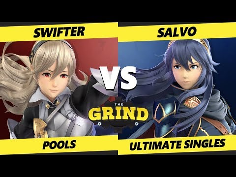 Smash Ultimate Tournament - Swifter (Corrin) Vs. Salvo (Lucina) The Grind 106 SSBU Winners Pools