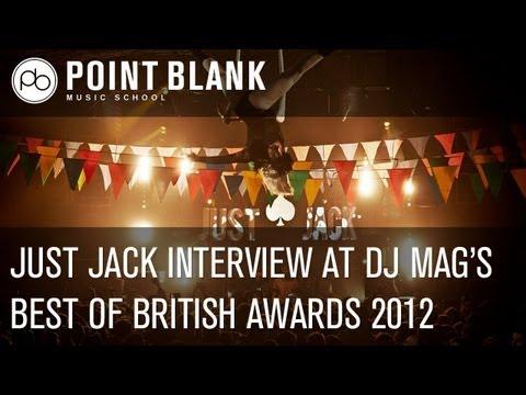 Just Jack Interview at DJ Mag's Best of British Awards 2012