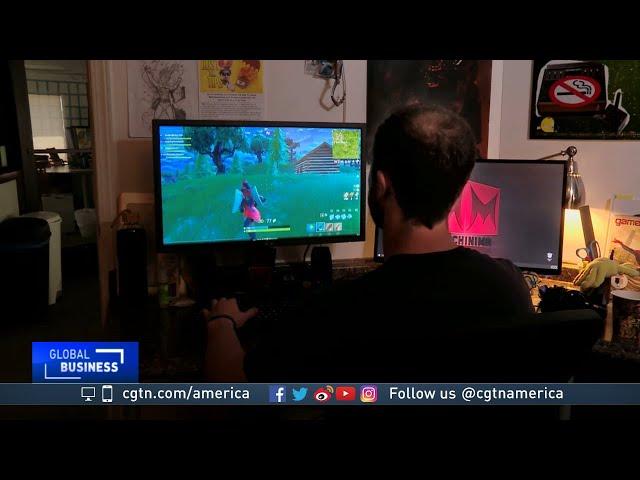 CGTN News Fortnite Frenzy - Video Game Looks to China