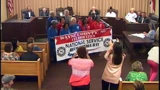 Goldsboro City Council Meeting 04-02-2018