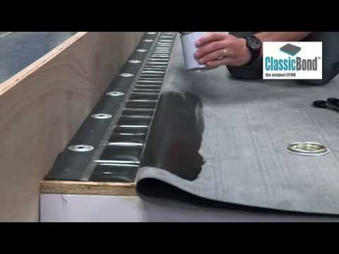 Flat Rubber Roof with RUSS - EPDM Installation Guides and Training
