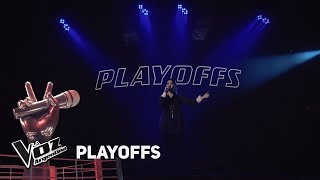 "Playoffs #TeamMontaner - Paula canta ""Si tú eres mi hombre ..."