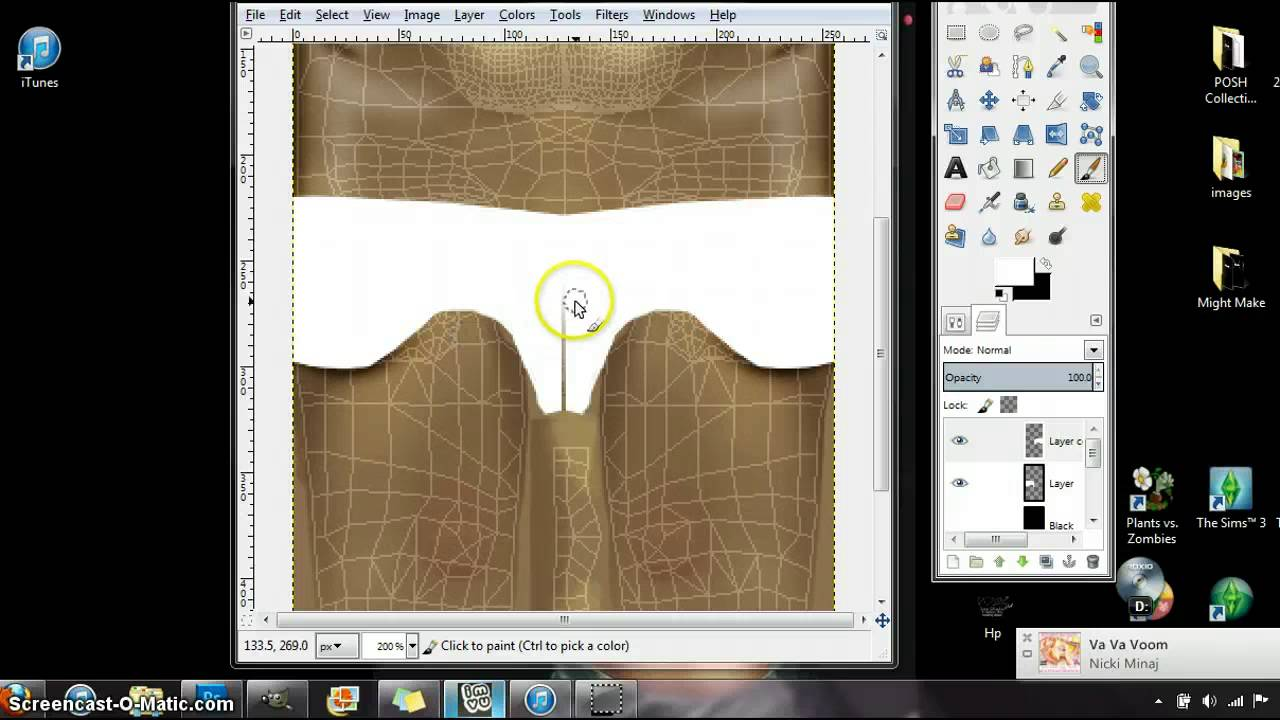 IMVU Creating-Basic HW Shorts - YouTube
