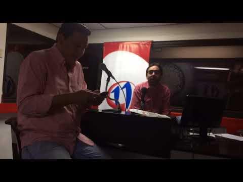 Carlos Luis Suárez Méndez en Radio 11Q Guayaquil Ecuador 27 sep 2017