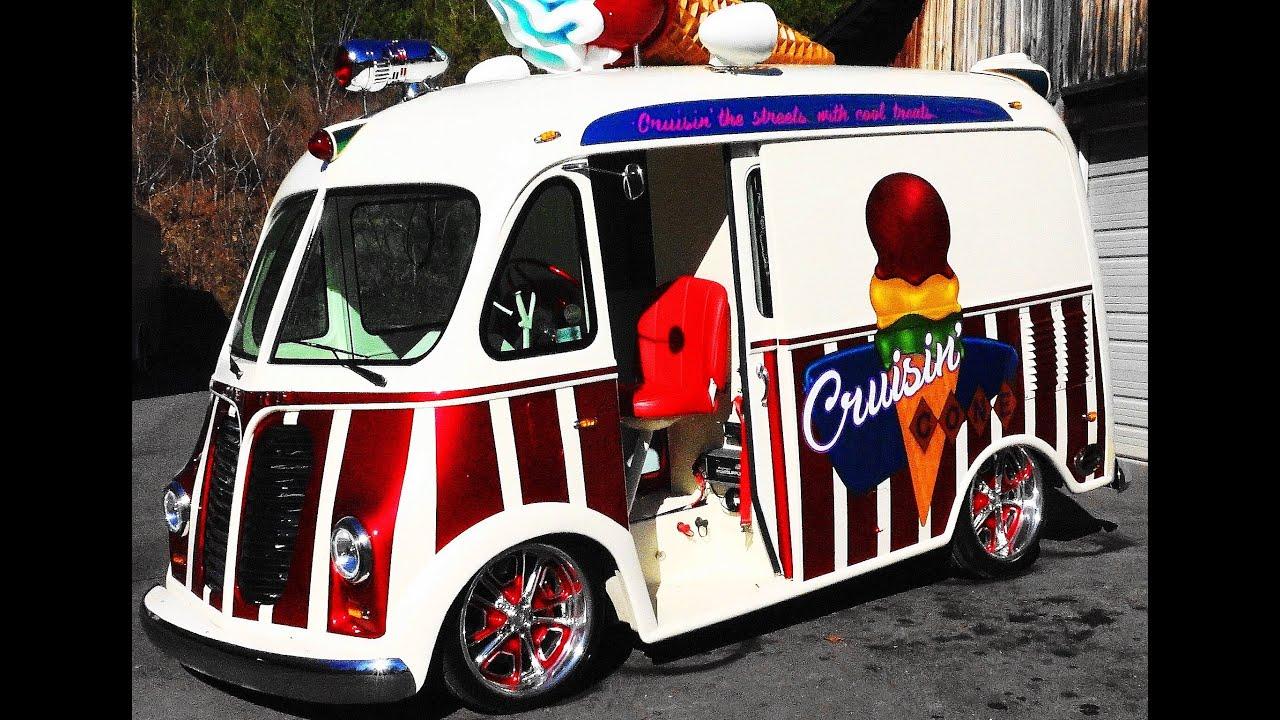 1950 International Metro Van Custom Ice Cream Truck \