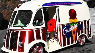 "1950 International Metro Van Custom Ice Cream Truck ""Cruisin' Cone"""