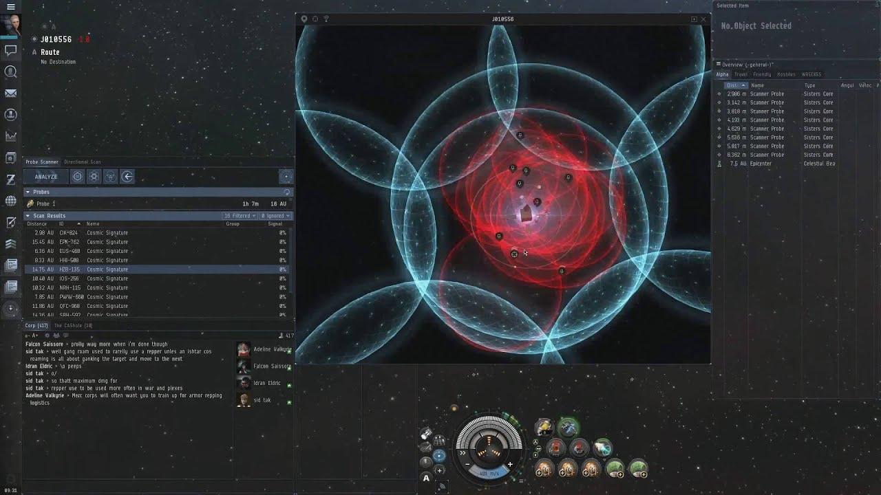 Eve Online - Probing/'Scanning' Guide - Exploration (2016)