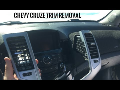 Chevy Cruze Interior Trim Removal - Automatic Transmission