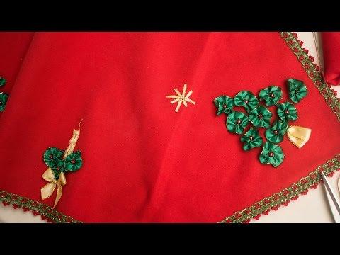 CAMINO DE MESA NAVIDEÑO *diy lindo y fácil de hacer *  CHRITSMAS TABLE TAPE /ESPECIAL NAVIDAD