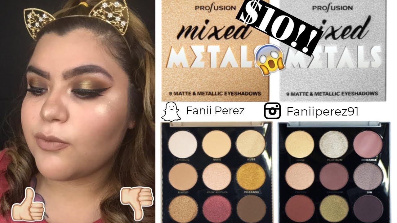 Makeup How-to: Mixed MetallicEyeshadow