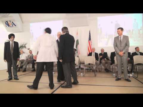 AUA Class of 2017 White Coat Ceremony (November 9th, 2013)