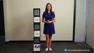 Portable Pop Up Brochure Stand