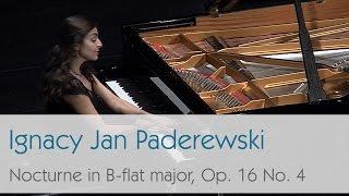 Ignacy Jan Paderewski - Nocturne in B-flat major, Op. 16 No. 4 - Violetta Khachikyan