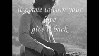 """Turn Your Love"" - Jack Johnson"