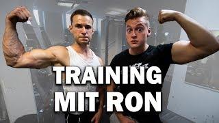 Wenn man mit Ron trainieren geht