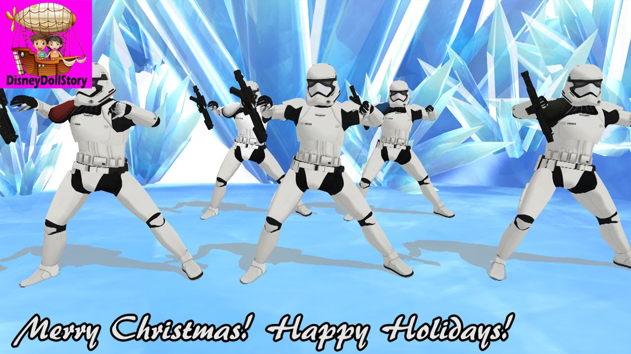 stormtroopers dance merry christmas and happy holidays star wars force awakens mmd - Merry Christmas Star Wars