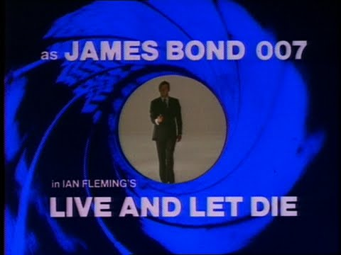 Live and Let Die - 1973 Preview Cinema Trailer