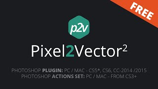 Pixel2Vector - Free Pixel to Vector Converter for Photoshop