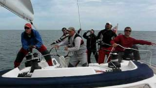 Sailing team Pontos on X-Yacht 55